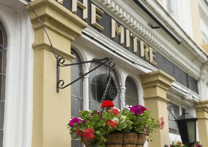 The Mitre TW9 Exterior